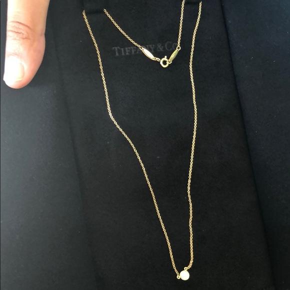 Tiffany Co Jewelry Tiffany Elsa Peretti Diamonds By The Yard Necklace Poshmark